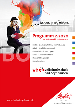 Programmheft Bad Oeynhausen 2020/2